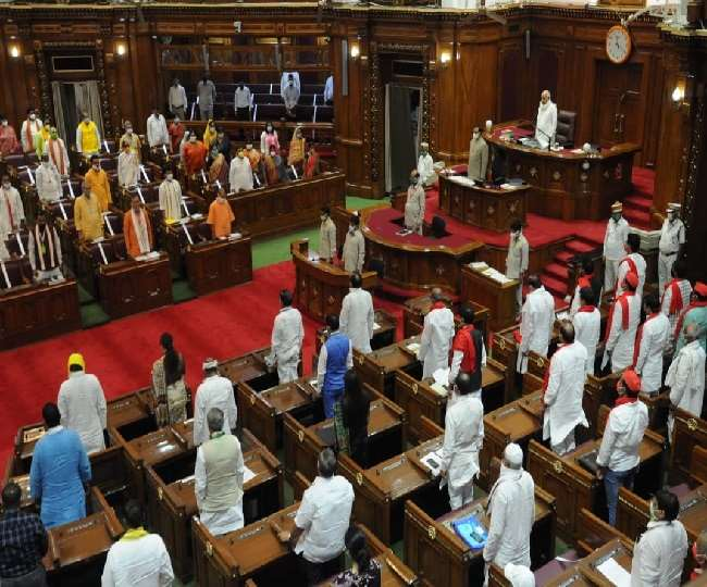 UP Monsoon Session: UP Assembly proceedings adjourned, council creates ruckus