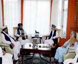 अब्दुल्ला अब्दुल्ला, हामिद करजई ने तालिबान कार्यवाहक गवर्नर से मुलाकात की