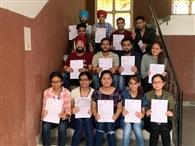 टीसीएस ने एजीसी के 18 विद्यार्थियों को जॉब के लिए चुना