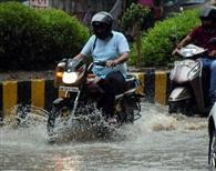 22 एमएम बारिश, जगह-जगह हुआ जलभराव