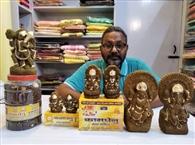 दीपावली पर गोबर के लक्ष्मी-गणेश मंदिरों में होंगे स्थापित