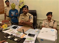 खाजेकलां में नकली नोट बनानेवाले गिरोह का भंडाफोड़, दो सदस्य गिरफ्तार