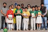 स्कूली बच्चों ने लिया ग्रीन दिवाली मनाने का संकल्प