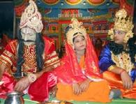 राम-सीता विवाह का भावपूर्ण मंचन