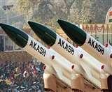 आकाश मिसाइलों से होगी पाक और चीन से लगी सीमाओं की रखवाली, रक्षा मंत्रालय की बैठक