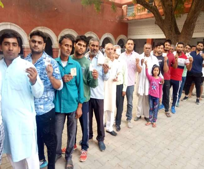 Haryana Assembly Election 2019 Live Updates: 23.12 per cent voter turnout recorded till 12 pm