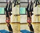 Malaika Arora Gym Photo : जिम में उल्टी लटकीं दिखीं मलाइका, आपने देखा एक्ट्रेस का ये खतरनाक वर्कआउट?