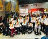 सिडनी में आयोजित पैरा स्पोर्ट शूटिंग वर्ल्ड कप-2019 से लौटे खिलाड़ियों का स्वागत Dehradun News