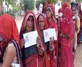 Rajasthan Assembly By Election 2019: मंडावा में दिखा उत्साह, खींवसर मे कम हुआ मतदान
