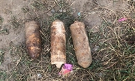 रायपुर अराइया में तीन बम मिलने से दहशत, बीडीडीएस दस्ते ने किए नष्ट