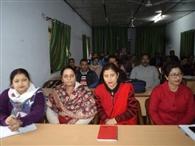 बीआरसी कार्यालय में शिक्षकों की लगी क्लास