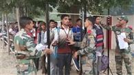 शाहजहांपुर के 89 फीसद युवा सेना भर्ती में फेल