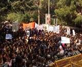 JNU Students Protest Day 4 : ABVP आज करेगा विश्वविद्यालय कैंपस में प्रदर्शन, सुरक्षा के कड़े इंतजाम