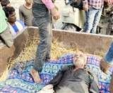 दरभंगा में सहरसा के पूर्व मुखिया की गोली मारकर हत्या, घोड़े पर सवार थे अपराधी Darbhanga News