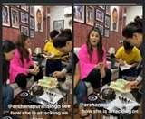 कपिल शर्मा ने उड़ाया अर्चना पूरन सिंह का मज़ाक, कहा- ' देखो कैसे केक पर अटैक कर रही हैं'