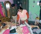 पुलिस की वर्दी में आए बदमाशों ने मंदिर में बरपाया कहर, बंधक बना की लूटपाट Panipat News