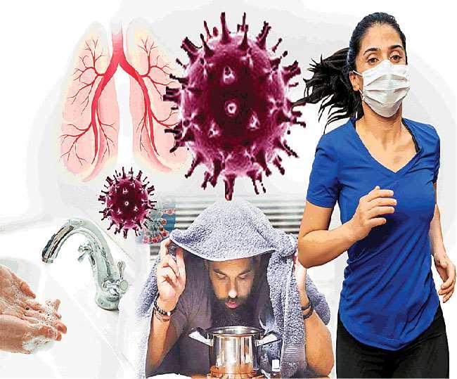 किसी भी संक्रमण से बचाव की दोहरी सावधानी अपनानी होगी।