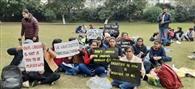वीसी से बैठक के बाद रामपुराफूल के छात्रों का धरना खत्म