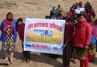 जिले में 14 जगह होगा गंगा यात्रा का स्वागत