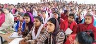 करियर के प्रति छात्राओं को सजग रहने की जरूरत : मोतीराम