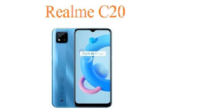 Realme C20 Smartphone Launched With MediaTek Helio G35 ...