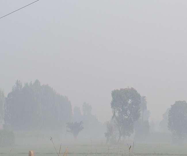 पानीपत में शुक्रवार सुबह कोहरा छाया रहा।
