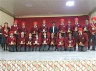 सेंट जोसेफ स्कूल के मेधावी विद्यार्थी सम्मानित