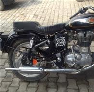 बुलेट चालक का काटा 23 हजार रुपये का चालान, वाहन किया इंपाउंड