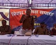 शहर के खजुरवानी गांव को पुलिस अधीक्षक ने लिया गोद