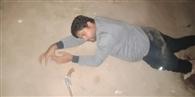 मुठभेड़ में 15 हजार का इनामी गिरफ्तार, सिपाही जख्मी