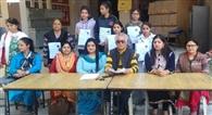 25 छात्राओं को लर्निग ड्राइविग लाइसेंस वितरित किए