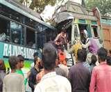 झारखंड के लोहरदगा में बड़ा हादसा, बस-ट्रक में जोरदार टक्कर; रांची से डालटनगंज जा रही थी बस
