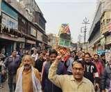 बेलनगंज के लोगों ने खड़े होकर किया आगरा के गांधी चिम्मनलाल जैन को अंतिम प्रणाम Agra News