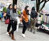 नैनीताल में ठंड लौटी, लोगों ने अलमारी में बंद गर्म कपड़े निकाले बाहर nainital news