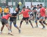 सीनियर हैंडबॉल प्रतियोगिता : यूपी को हराकर फाइनल में पहुंचा रेलवे, पंजाब से होगी खिताबी भिड़ंत Kanpur News