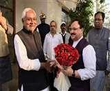 Nadda in Bihar: CM नीतीश से मिले जेपी नड्डा, बेटे की शादी का दिया न्यौता... राजनीति पर भी हुई बातें