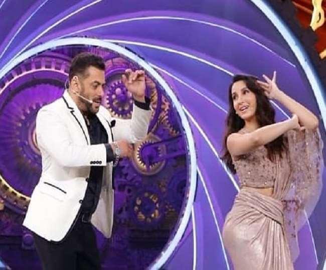 Bigg Boss 14 के Finale में सलमान खान ने Nora Fatehi के साथ किया 'गर्मी' सॉन्ग पर डांस- Watch Video