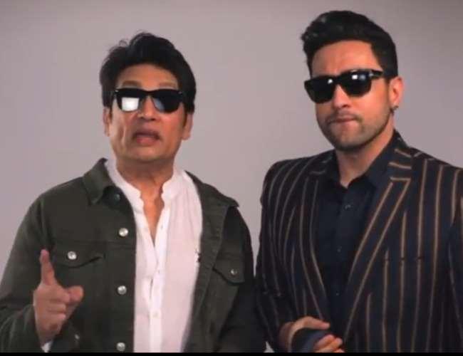 Shekhar Suman and Adhyayan Suman. Photo- screenshot instagram