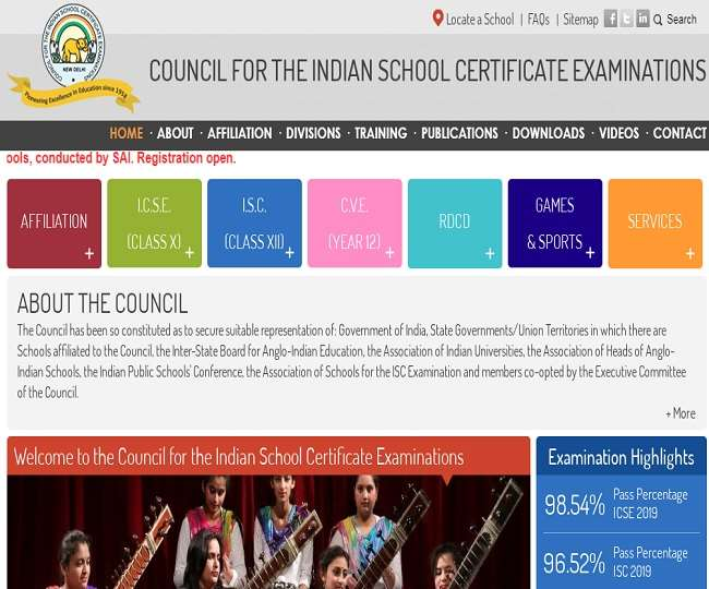 ICSE Class 10, ISC Class 12 Semester 1 Date sheet 2021: CISCE announces the ISC, ICSE Exam timetable 2021 @ icse.org