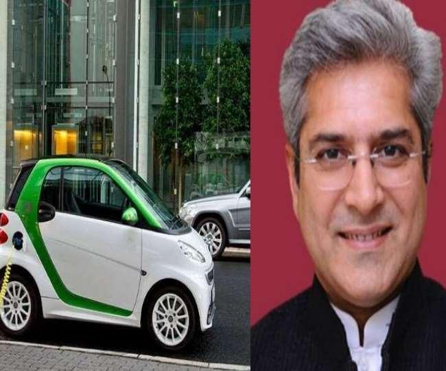 दिल्ली सरकार का लक्ष्य पहले साल में 35,000 ई-वाहन सड़कों पर लाना है।