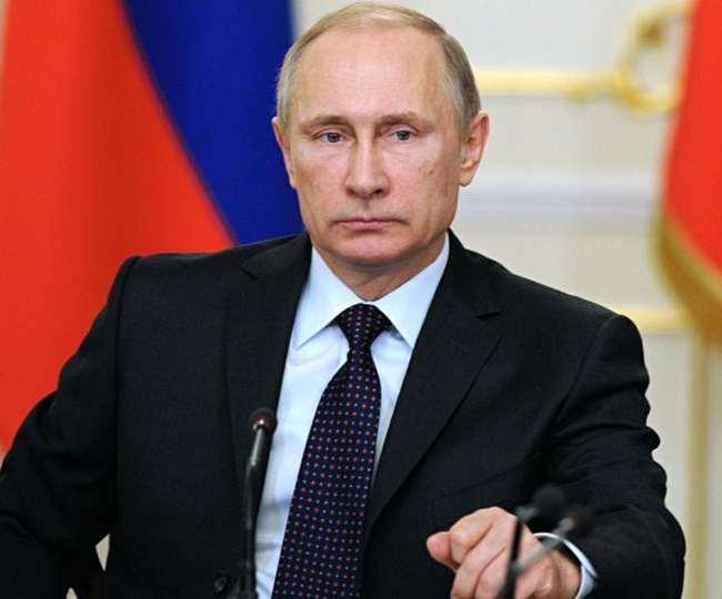 रूस के राष्ट्रपति व्लादिमीर पुतिन की फाइल फोटो