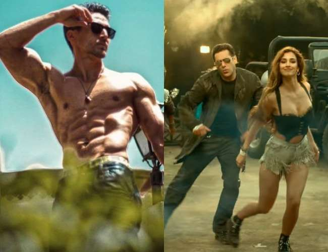 Radhe Your Most Wanted Bhai Trailer: Tiger Shroff's Reaction As Girlfriend  Disha Patani Romances Salman Khan