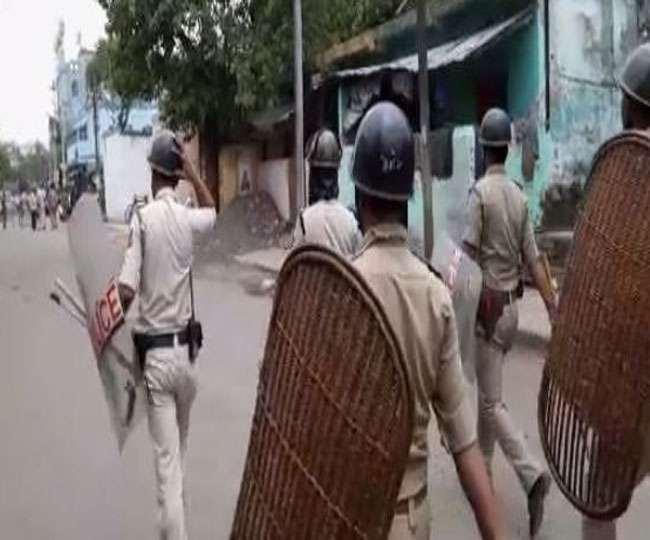 बंगाल में छठे चरण के मतदान के दौरान छिटपुट हिंसा जारी है