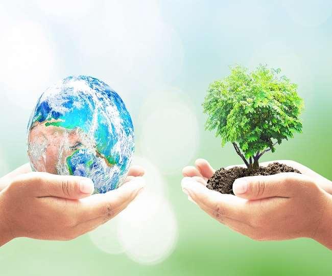 विश्व पृथ्वी दिवस से संबंधित सांकेतिक तस्वीर।