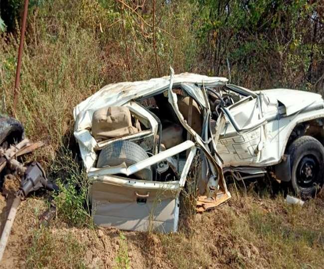 बिहार: गया में अवैध खनन रोकने गए वाहन पर चढ़ाया हाइवा, सैप जवान सहित चार की मौत