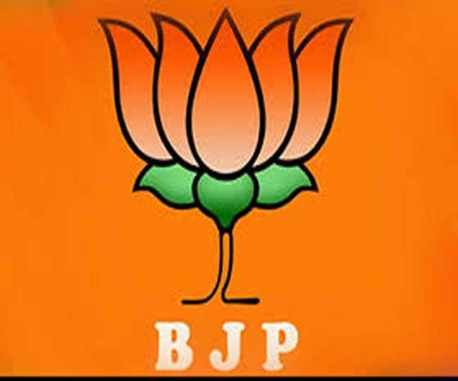 भारतीय जनता पार्टी के लोगो की फाइल फोटो।
