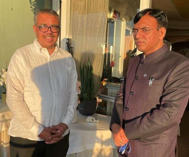 डब्ल्यूएचओ के महानिदेशक ने केंद्रीय स्वास्थ्य मंत्री मनसुख मांडविया को धन्यवाद दिया है।