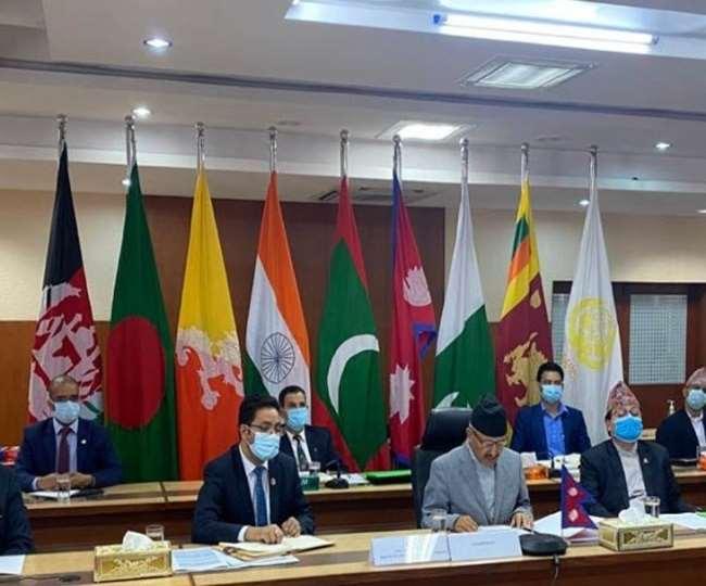 दक्षिण एशियाई क्षेत्रीय सहयोग संगठन (सार्क) की बैठक की फाइल फोटो।