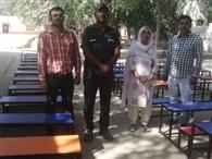 शिक्षा सचिव ने 24 घंटे में कल्लरखेड़ा प्राइमरी स्कूल को मुहैया करवाया फर्नीचर