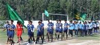 फुटबॉल में डीपीएस श्रीनगर ने फरीदाबाद को दी मात